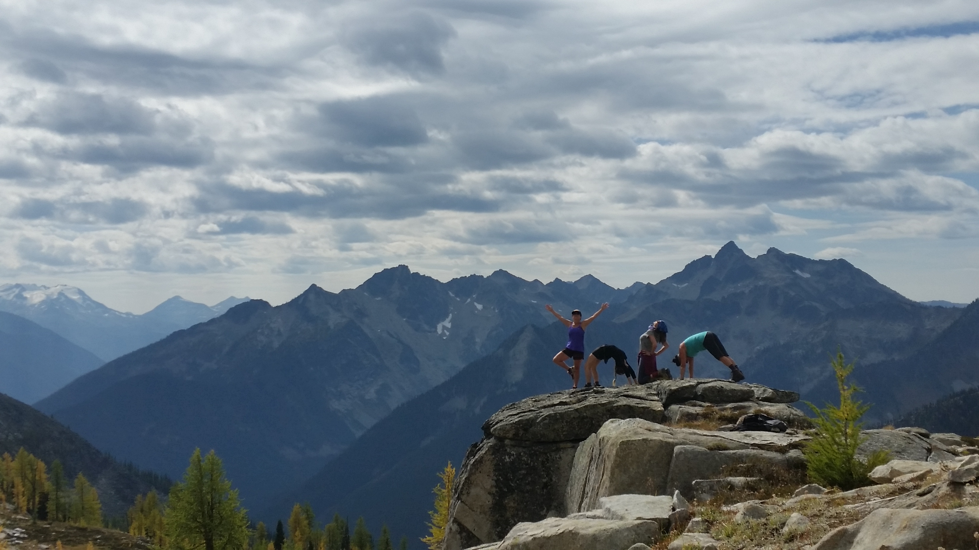 Yoga in the Mountains @ Mount Carlyle Backcountry Lodge